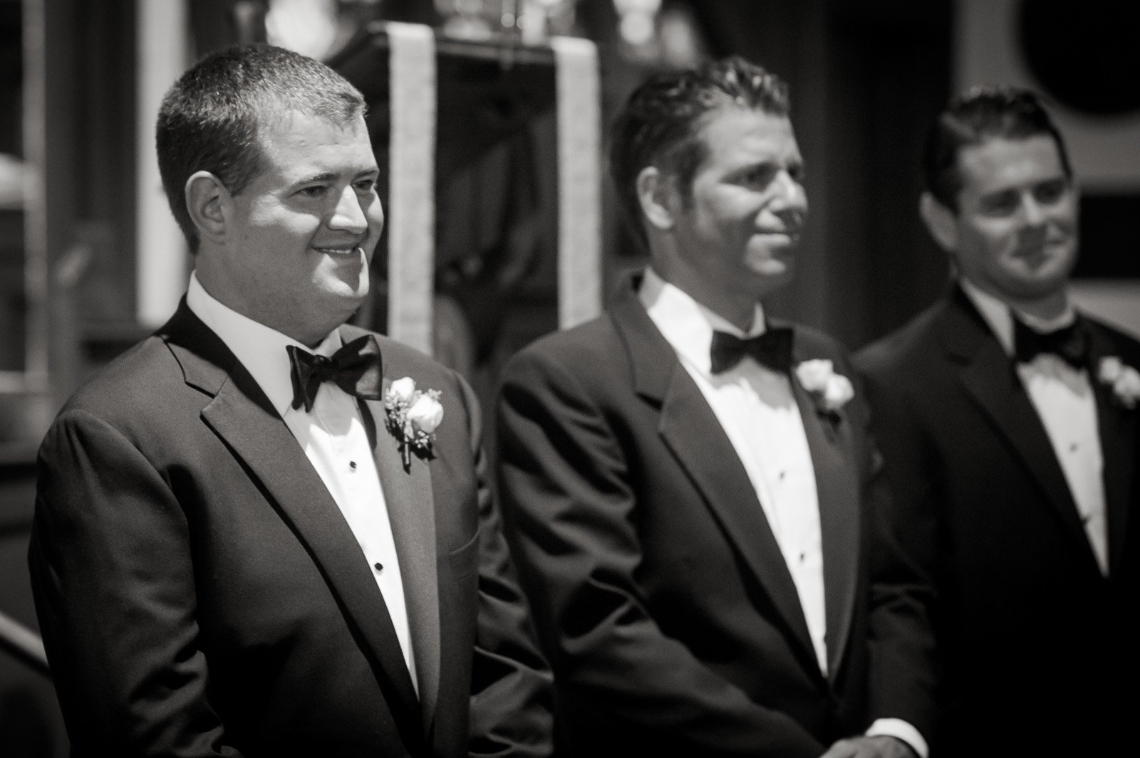 The Wedding of Britten and AJ at the Tuxedo Club, Tuxedo, NY. (Craig Warga Weddings)