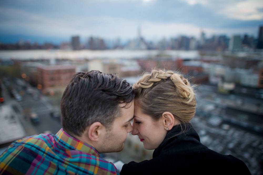 Brooklyn Engagement shoot