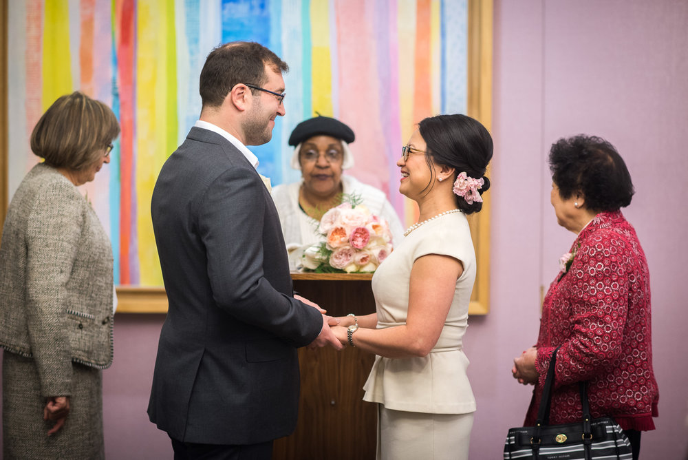 New York City Hall Elopement Wedding Photos