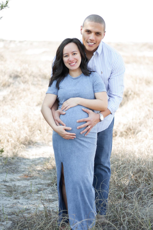 Maternity Photos at Wrightsville Beach