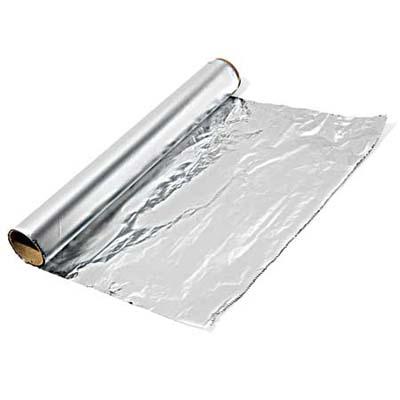 Aluminium wrapping foil Per 1 metre 10 Credits