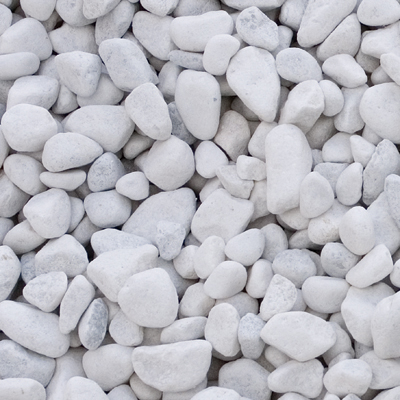 White pebbles   Bundle of 10  25 Credits