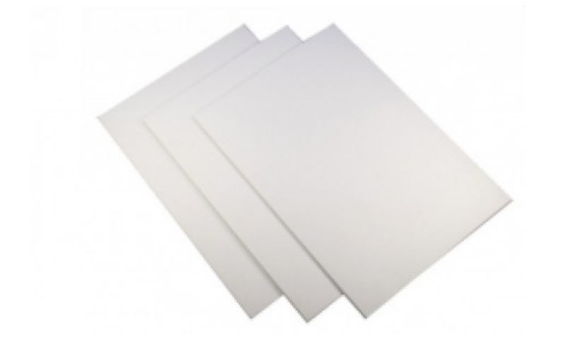 Thick white card   single sheet  5 Credits