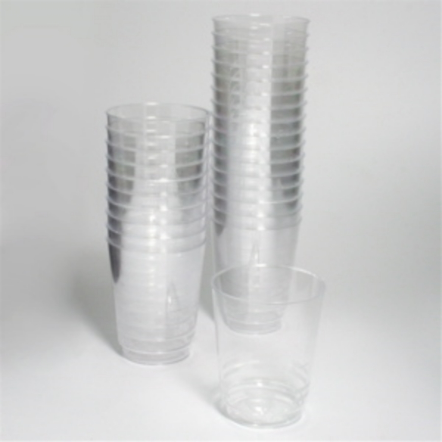 Plastic cups   Single glass  30 Credits