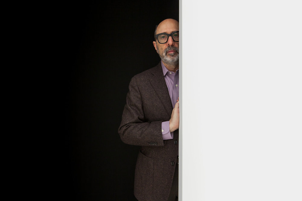 Architect Isay Weinfeld in TriBeCa, NY
