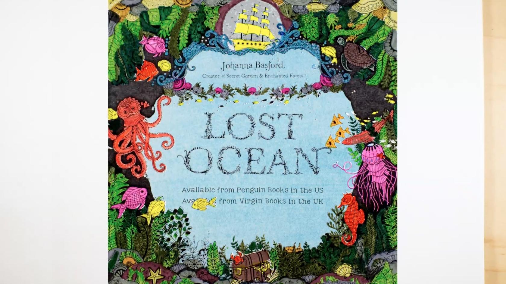 Lost Ocean Book Trailers