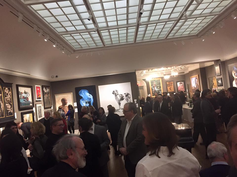 A view of the ARC Salon at the Salmagundi Club NYC