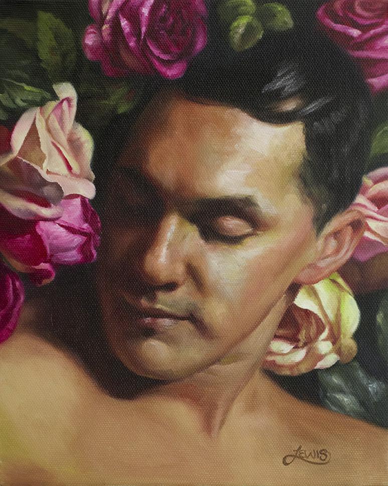 A Man Among Roses