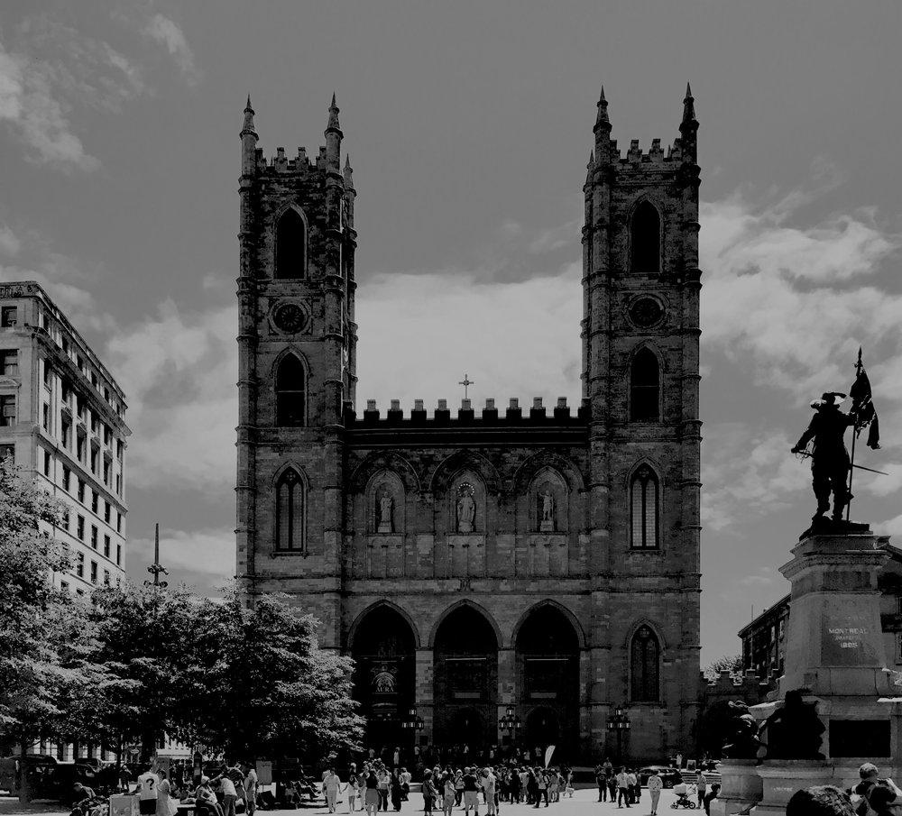 Notre-Dame Basilica de Montreal, July 2017