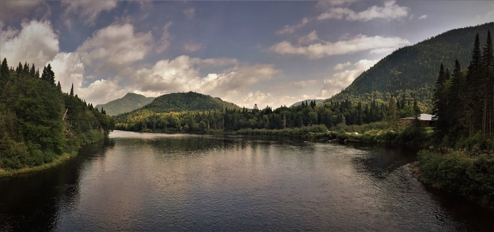 River Landscape, Parc National de la Jacques-Cartier, August 2015