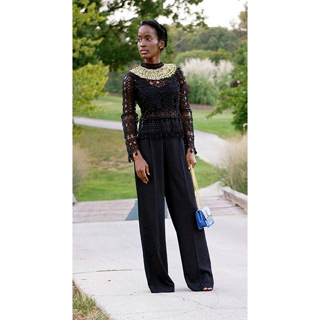 Please check out my latest post (black runway) on stylegyft.com, @stylegyft_ #blackonblack #beads #beadednecklace #style #stylegyft_ #fashion