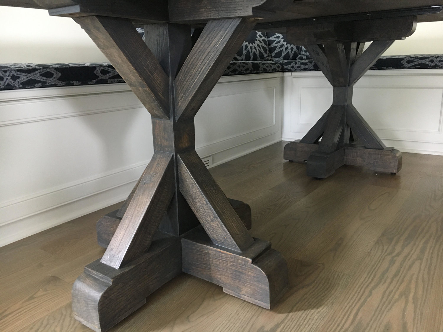 Pedestals Reclaimed Wood Furniture Square Nail Chicago