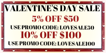 EXPIRES 2/14/2017 AT 11:59P (CST) MUST USE ONE PROMO CODE AT CHECKOUT FOR DISCOUNT. CAN NOT BE COMBINED WITH OTHER PROMO CODES.