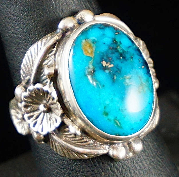 Mens Native American Turquoise Rings EAGLE ROCK TRADING POST