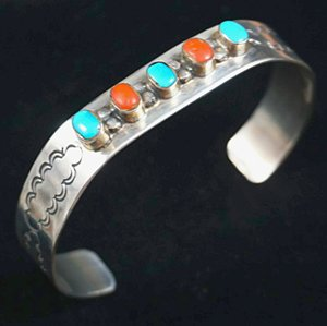 vintage-navajo-turquoise-coral-silver-bracelet.jpg