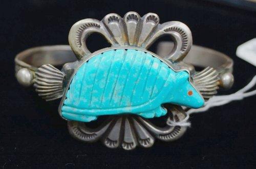 zuni-turquoise-carved-armadillo-sandcast-bracelet.jpg
