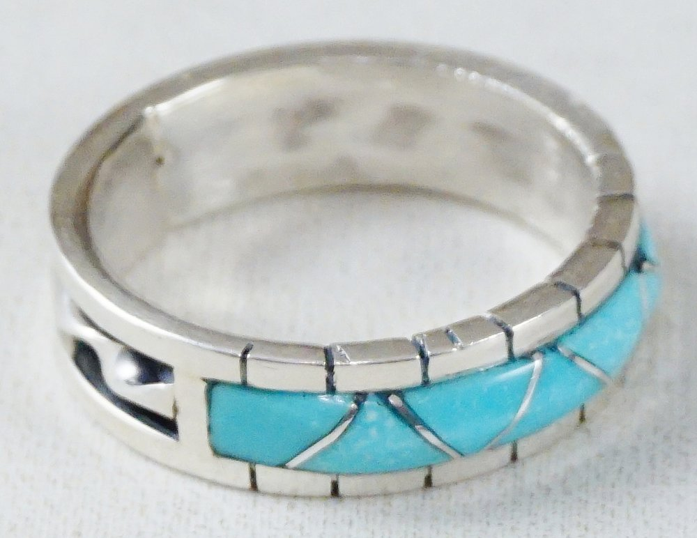 a0a487fbff3169 Men's Native American Turquoise Rings- EAGLE ROCK TRADING POST ...