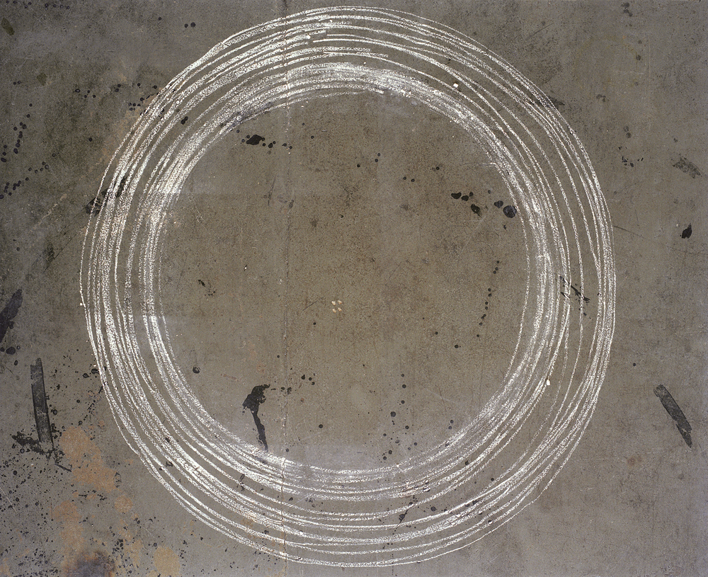 "Mark (circles) chromogenic print 30""X40"" 2002"