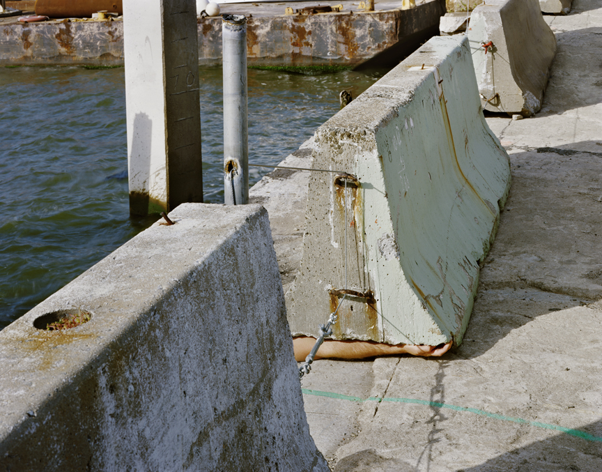 "Untitled (crush) from Insertions series chromogenic print 30""x40"" 2007"