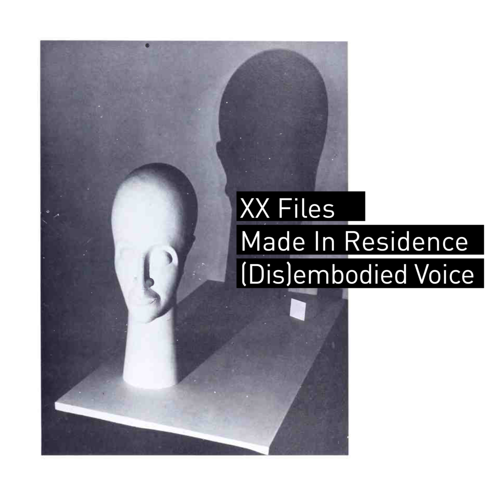 XX Files Presents : (Dis)embodied Voice - With Amanda Harvey and Belen Rebecca ArenasMade in residence at Studio XX 2017Gender/Body/Voice/TechnologyAn exploration of the gendered voice and its function in society