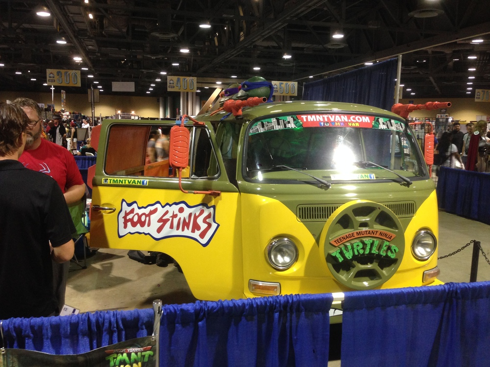 Ninja Turtle Van?!