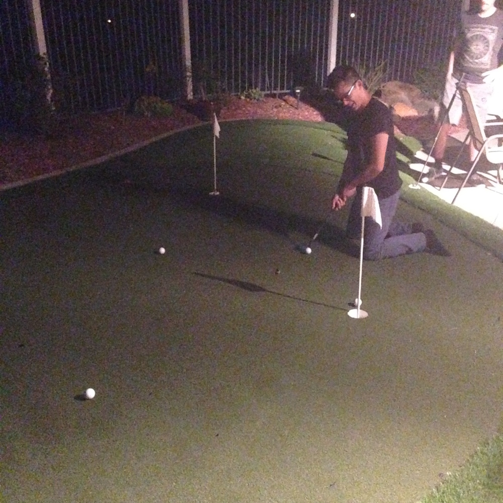 Night Putting