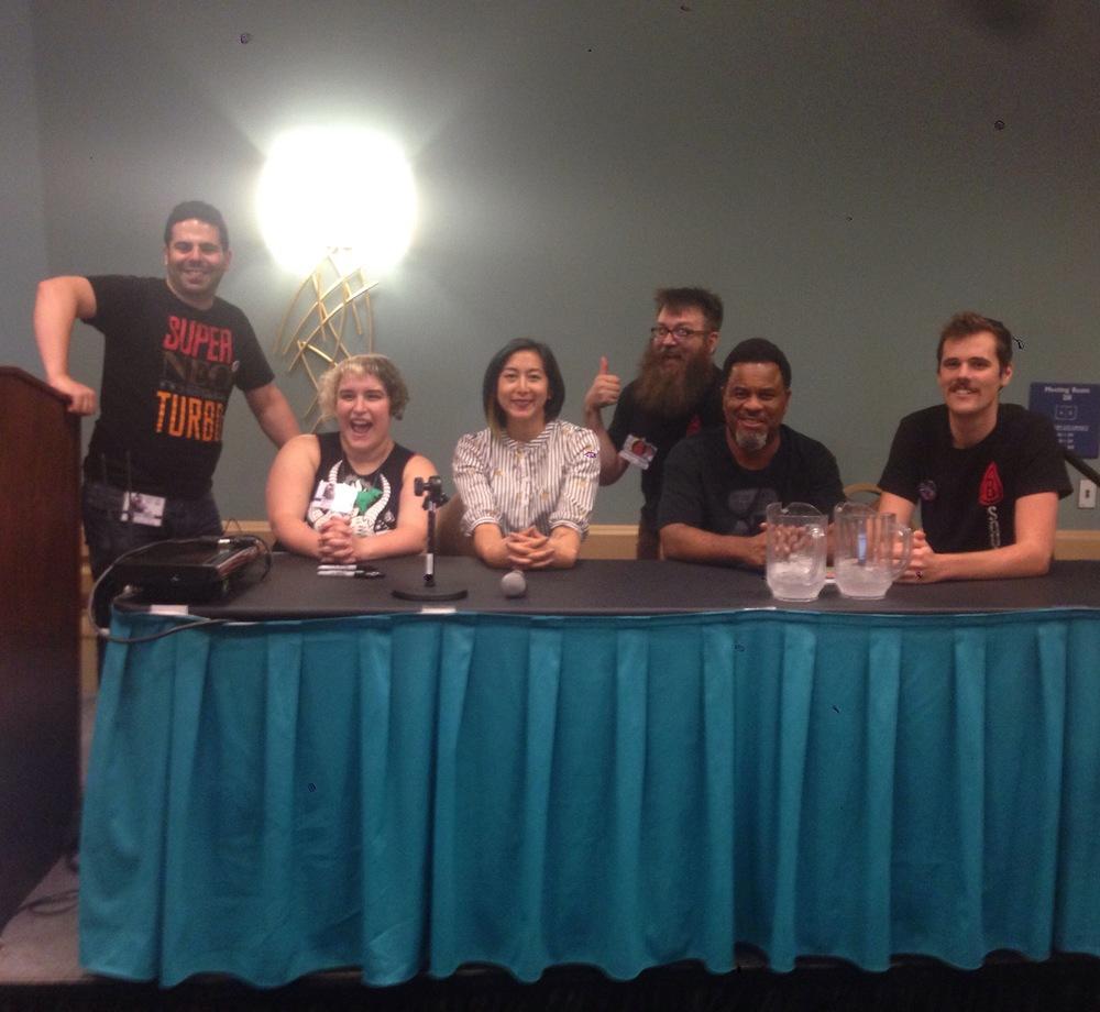 Jam Comics Live! Panel