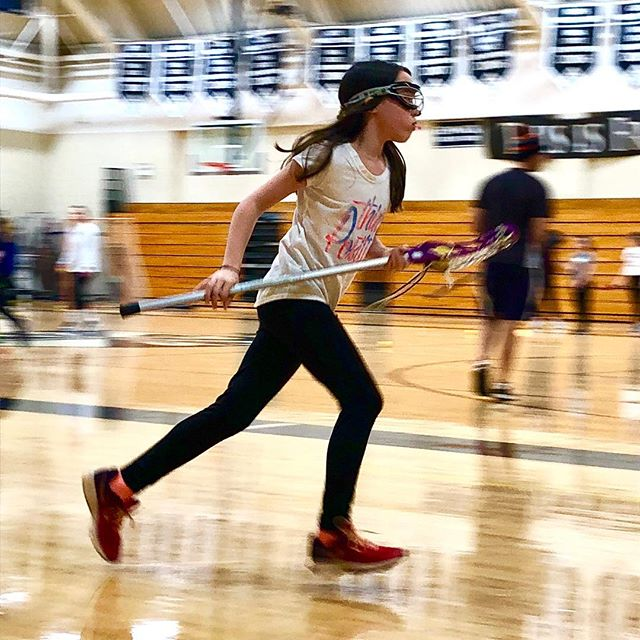Ladybird putting in that work.  #eastavelacrosse @eastavelacrosse #nikelacrosse