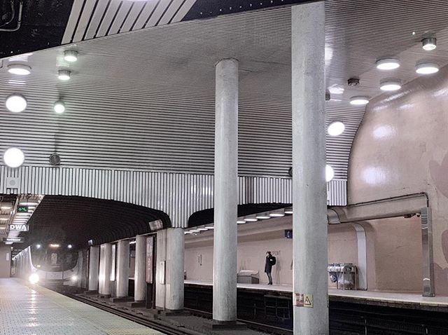 DuPont Station, one of Toronto's more interesting stations from this era. #TTC #subwaystation