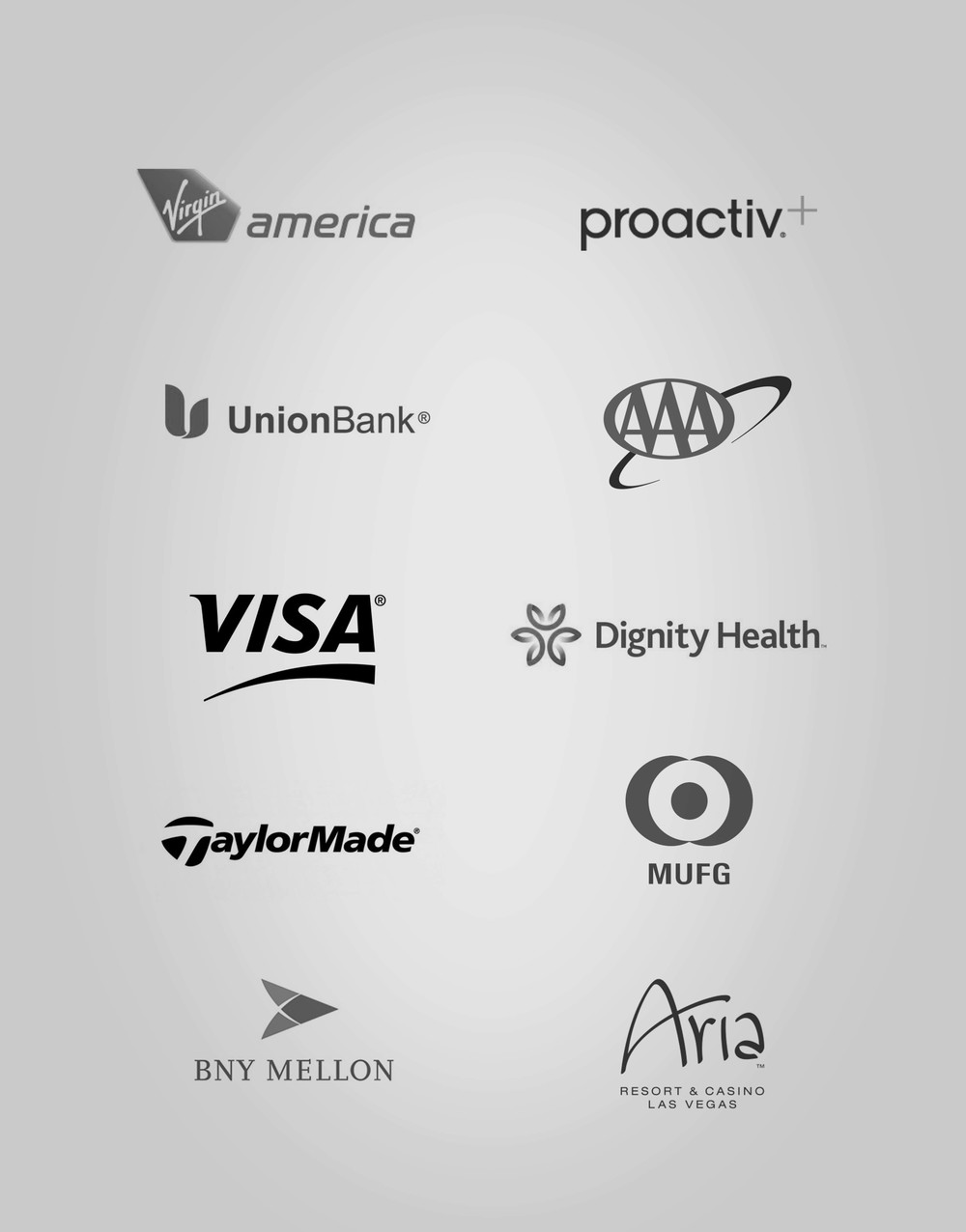 Brands in which I've done professional work.