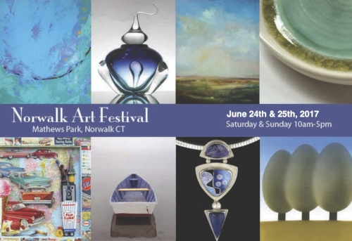 Norwalk Art Festival -  June 24 & 25