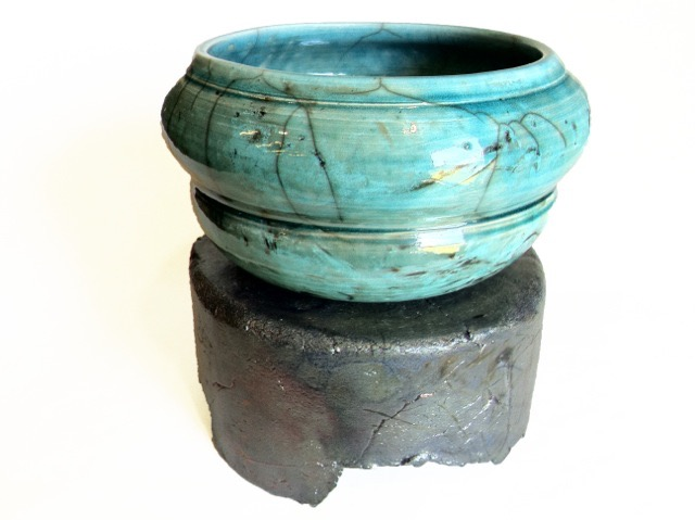James Brunelle - Raku Pottery