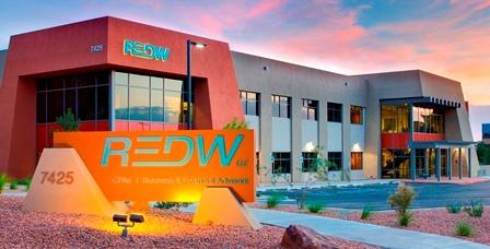 Map of REDW .