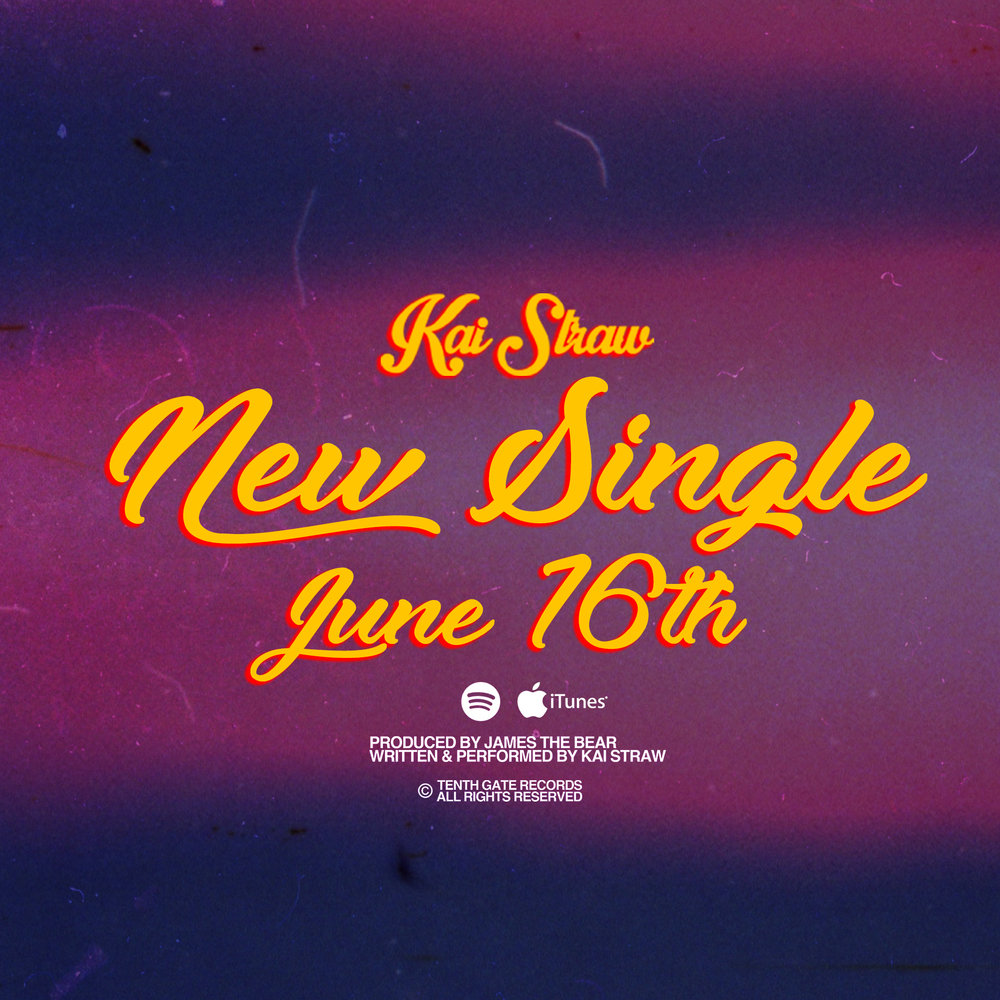 KaiStrawNewSingleJune16