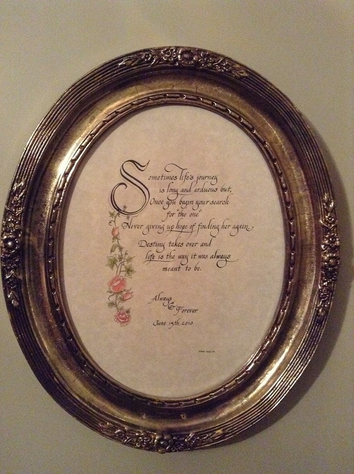 art & calligraphy framed.jpg