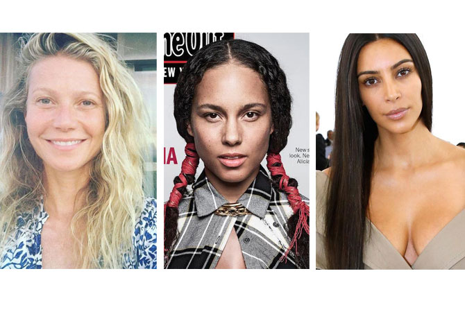 "The  #nomakeup  movement continues from Gwyneth Paltrow celebrating her 44th birthday sans makeup, Alicia Keys powerfully owning a fist full of magazine covers in clean skin or Kim Kardashina West making the boldest makeup statement at Balenciaga's Paris Fashion Week show in nude skin. These women are changing the standards of beauty and owning their natural state. ""There is beauty in taking it off"" - Lauren Napier xo LN 💋"