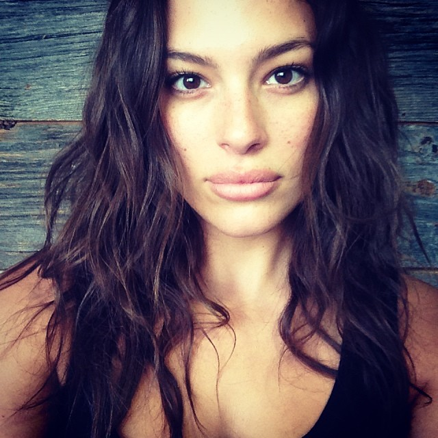 ASHLEY GRAHAM , NO MAKEUP