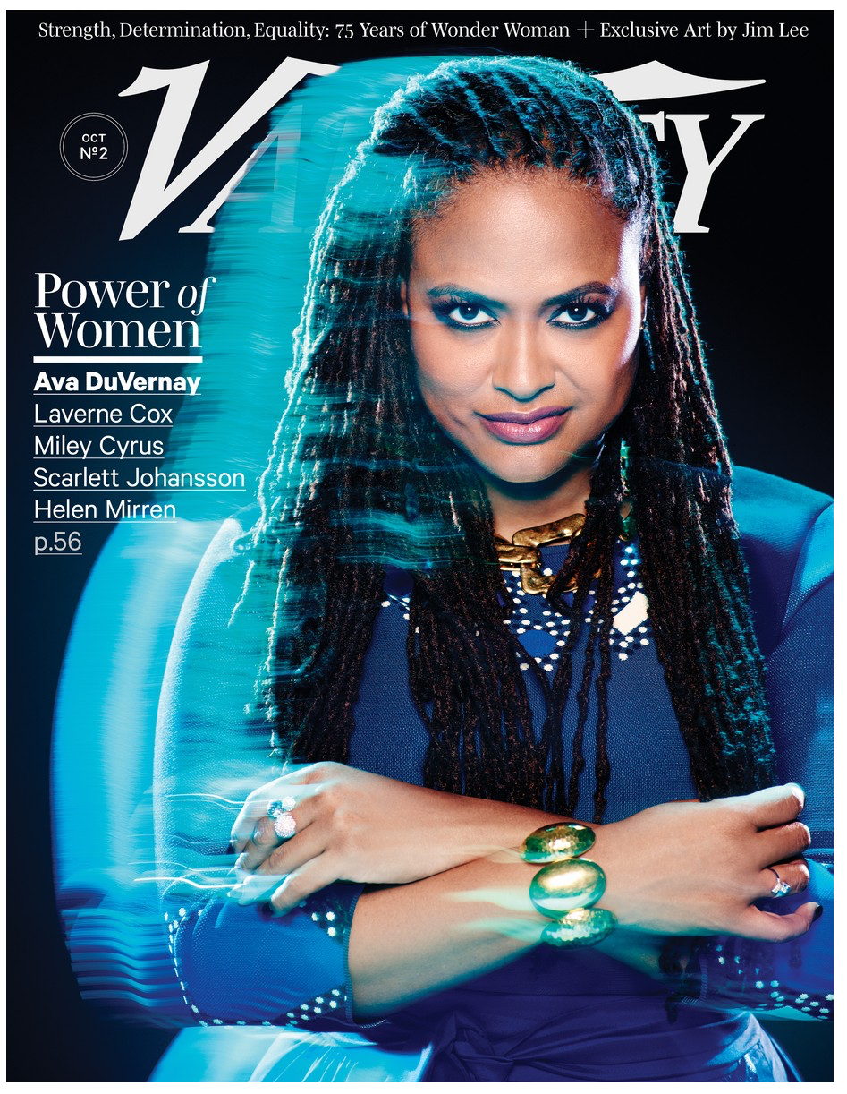 "AVA DUVERNAY   ""I was mesmerized by the scope and the scale and the beauty of the brown people in the film,"" says DuVernay. ""To see Rita Moreno doing her thing and looking like friends who lived in my community — I remember that being a real formative image."""