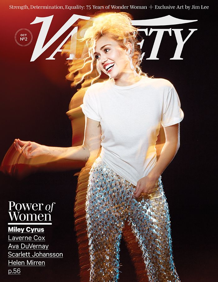 "MILEY CYRUS   Why do you think inequality still exists for women in Hollywood?   A lot of it could be changed if we had a female president. That would give us a subconscious boost. I think people will have to realize they're looking really dated. For example, there's a show called ""Supergirl."" I think having a show with a gender attached to it is weird. One, it's a woman on that fucking billboard — it's not a little girl. Two, what if you're a little boy who wants to be a girl so bad that this makes you feel bad? I think having a title like ""Supergirl"" doesn't give the power that people think it does."