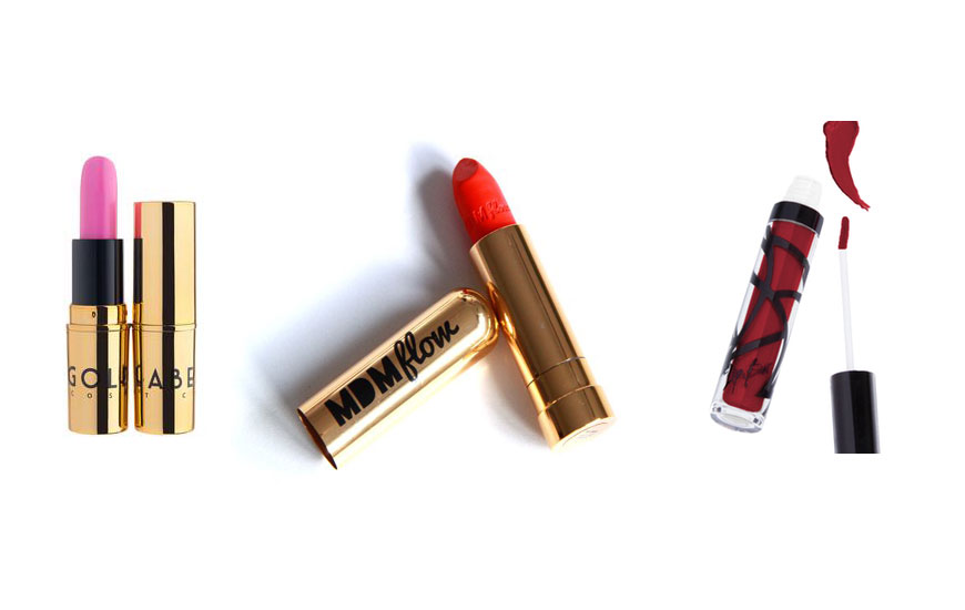 Our favorite female owned lip brands :  Gold Label Cosmetics ,  MDM FLo  and  the Lip Bar