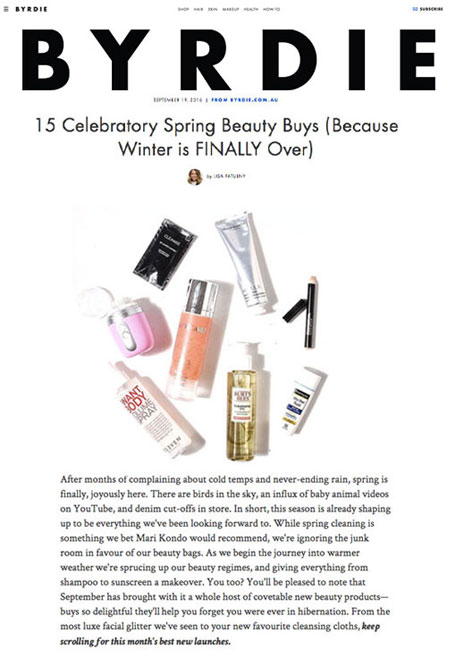 15 Celebratory Spring Beauty Buys (Because Winter is FINALLY Over)