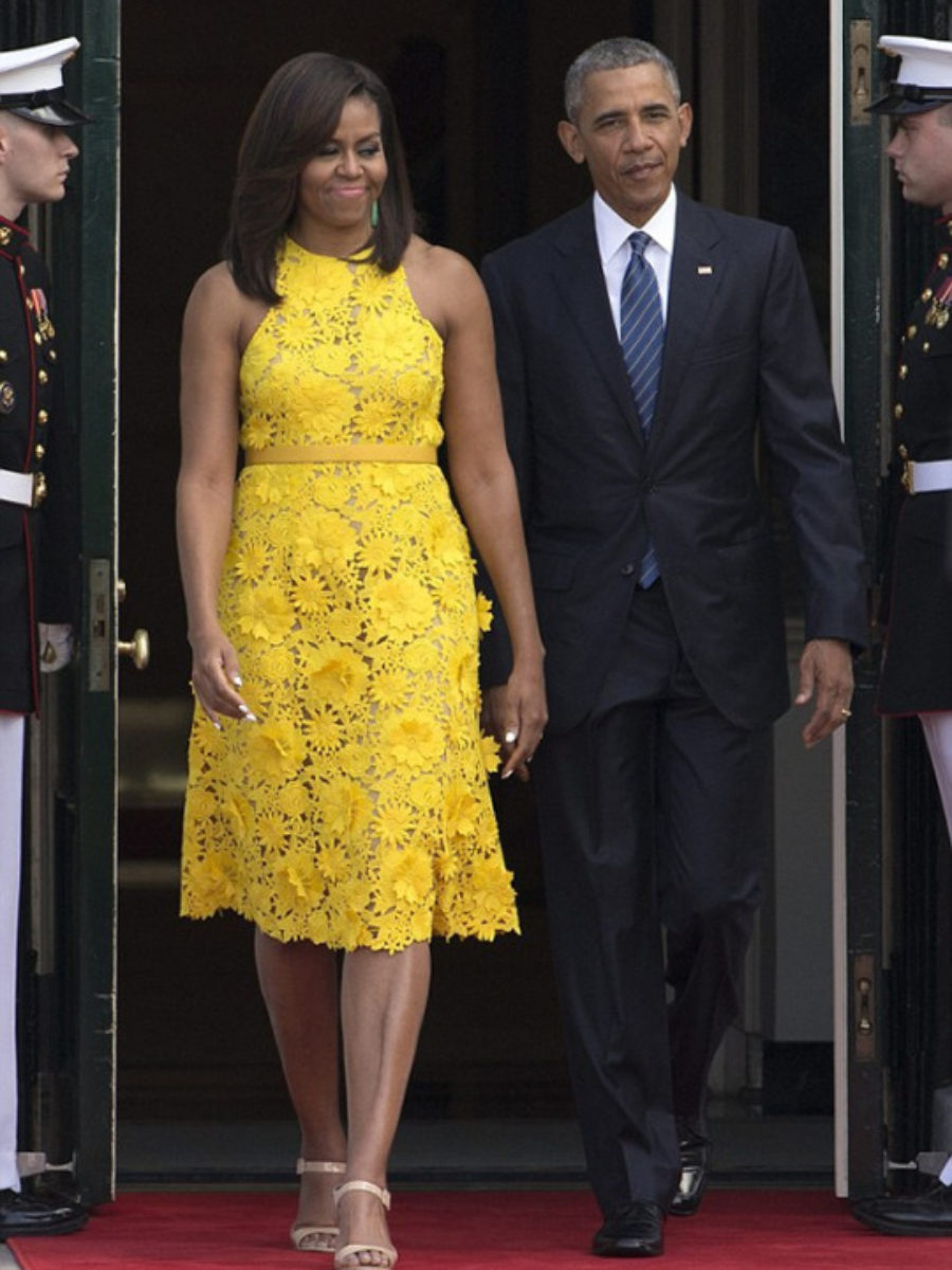 1-First-Lady-Michelle-Obama-Welcomes-Wears-Yellow-Naeem-Khan-Floral-Embroidered-Dress-900x1200.jpg