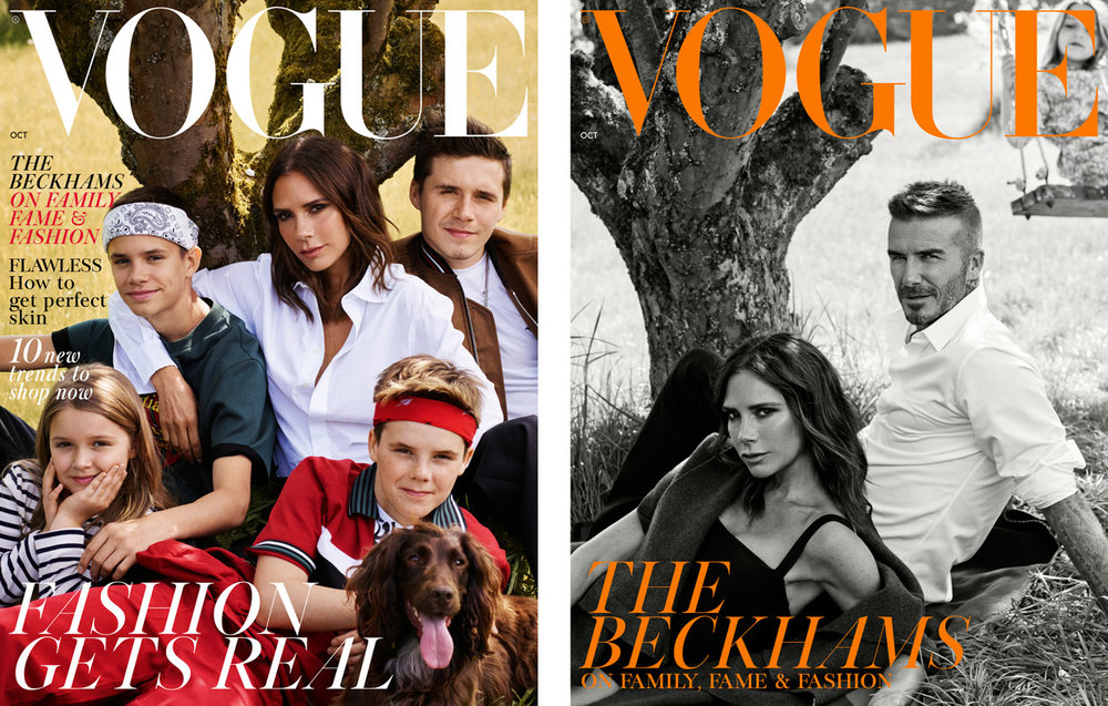 VICTORIA BECKHAM - BECKHAM FAMILY BRITISH VOGUE