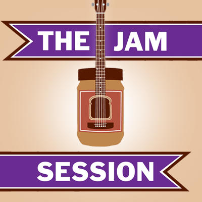 The Jam Session - Branding Elements, Social Media Assets