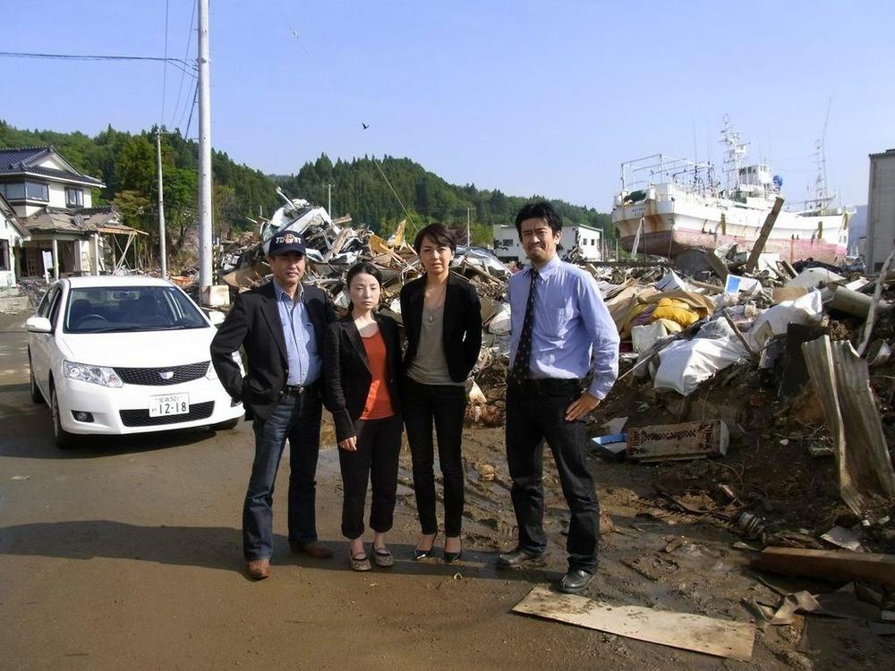 ICU Professor Emeritus of Psychology, Dr. Hidefumi Kotani and team