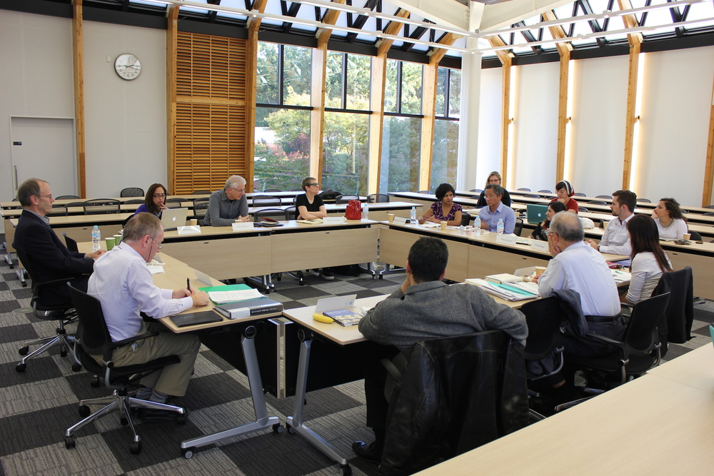 Rethinking Peace Studies I: Translation was held in the international conference room in the Kiyoshi Togasaki Memorial Dialogue House at ICU.