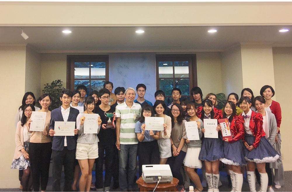 ドリコン2016の各賞受賞者と木越同窓会会長