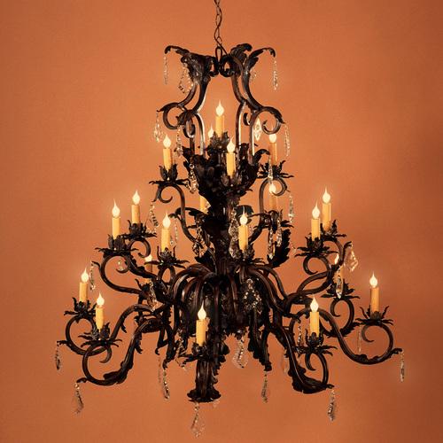 Villa grande european style chandelier iron lighting designs by bree villa grande european style chandelier aloadofball Image collections