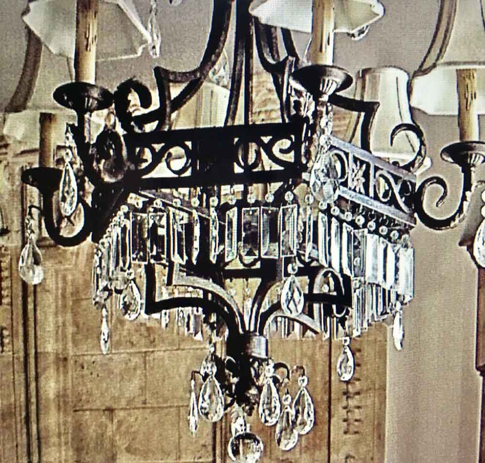 Custom Island Empire Chandelier