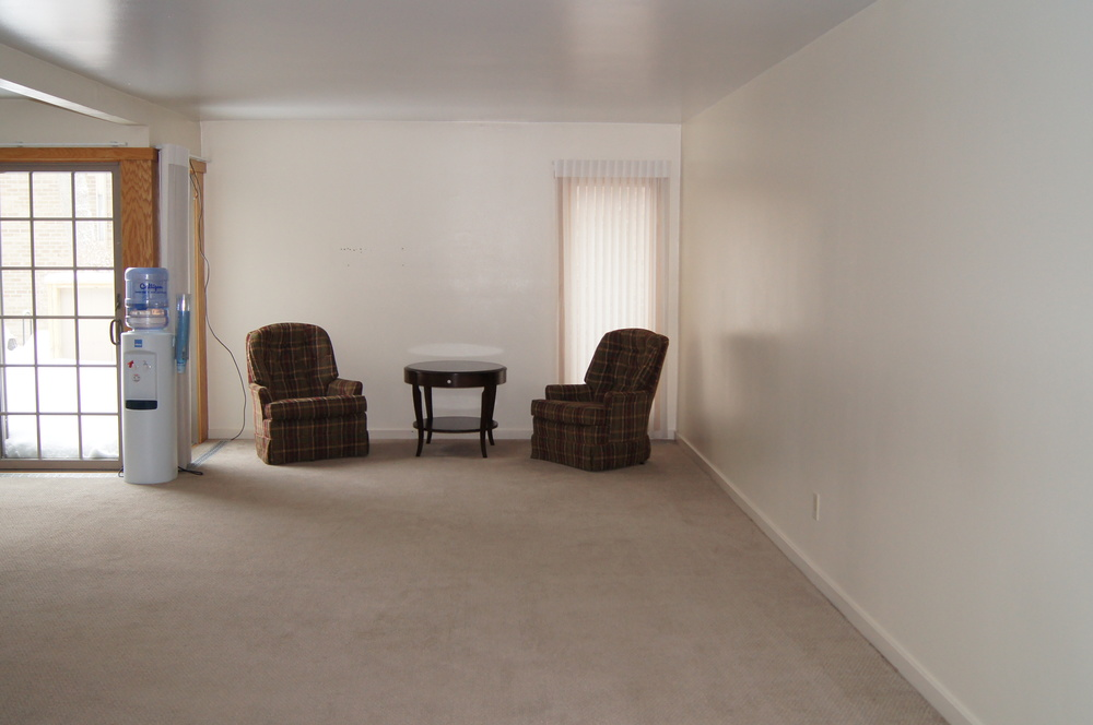 BEFORE:  ARRANGEMENT ROOM